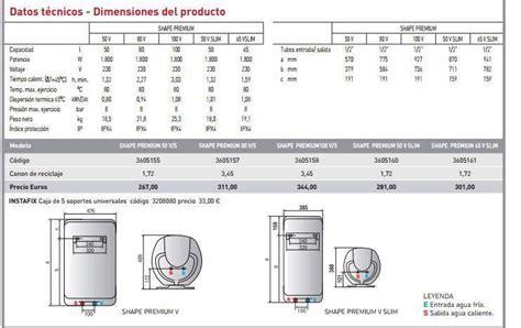 Termo eléctrico Ariston SHAPE PREMIUM 100 V 1,8K EU