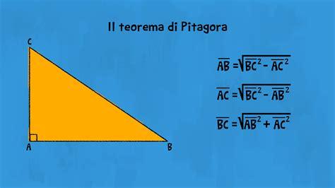 Terne pitagoriche e inverso del teorema di Pitagora per ...