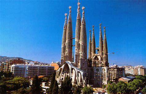 Terraqueoscopio: Catedral de la Sagrada Familia en Barcelona.