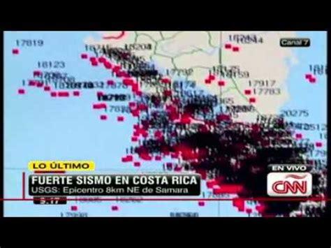 Terremoto de magnitud 7,6 sacude Costa Rica CNN en Español ...