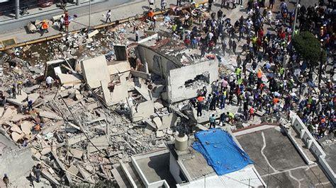 Terremoto México: Así se derrumban los edificios