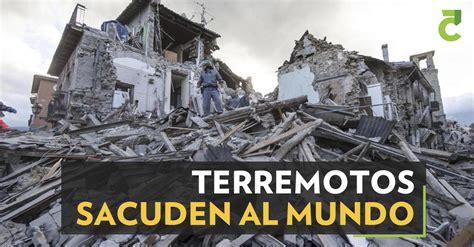 Terremotos sacuden el mundo | Periódico el Cinco