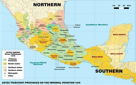 Territorial_Organization_of_the_Aztec_Empire_1519 | MAPS ...