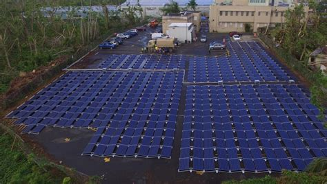Tesla posts first photos of solar+battery project in ...