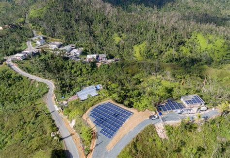 Tesla Puerto Rico 2 solar panels [Credit: Tesla ...