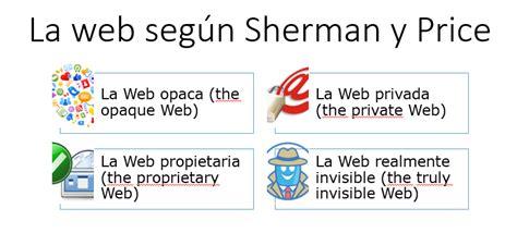 Tesoros de la red: Características de la WEB superficial y ...