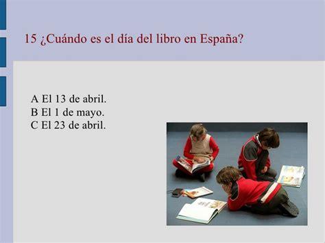 Test básico de cultura española
