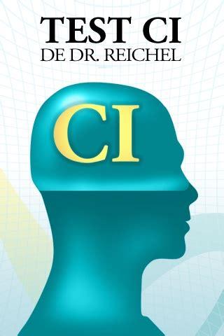 Test CI de Dr. Raichel, para calcular tu coeficiente ...