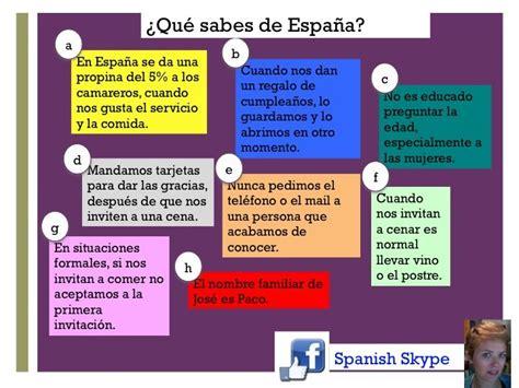 Test de cultura española. ¿Qué sabes de España? 4 son ...