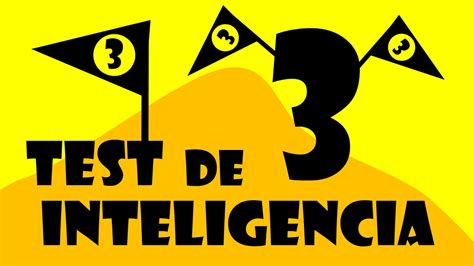 TEST de Inteligencia y Agilidad Mental 3 - Juegos Mentales ...