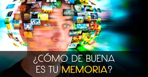Test de Personalidad: ¿Cómo de buena es tu Memoria?