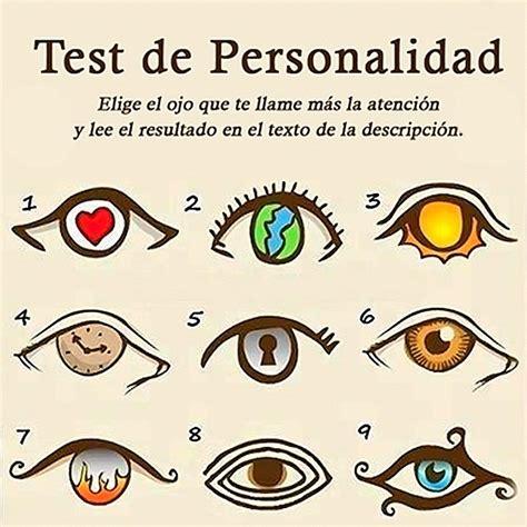 Test de Personalidad de los Ojos   Ley de la Atracción ...