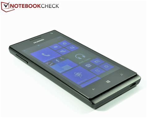 Test Huawei Ascend W1 Smartphone   Notebookcheck.com Tests
