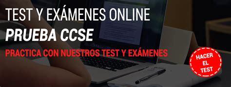 Test Online | Examen CCSE