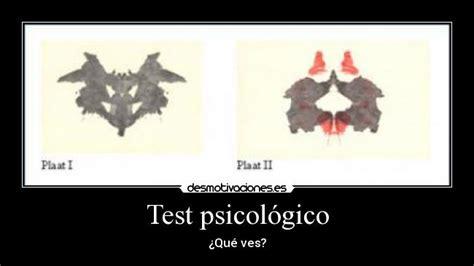 Test psicológico | Desmotivaciones