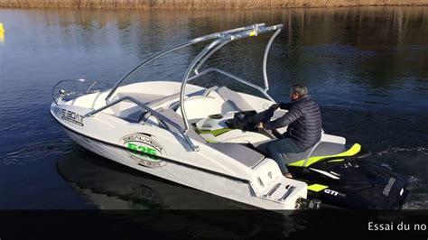 Test Sealver Wave Boat 525 + Sea doo GTI SE 2017 - YouTube