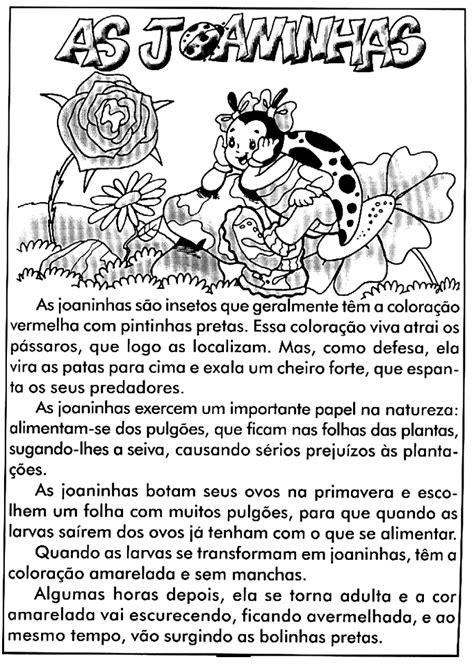 Texto informativo – As Joaninhas   Sala de Aula – Profª Rérida