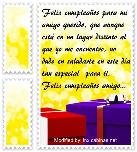 Textos bonitos de cumpleaños para un buen amigo con ...