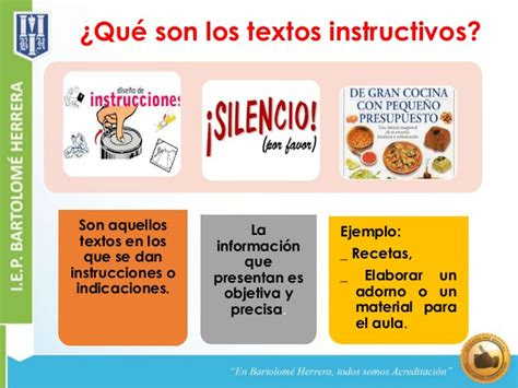 TEXTOS NARRATIVOS: TEXTOS INSTRUCTIVOS