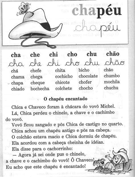 Textos para imprimir - Cartilha Alegria do Saber — SÓ ESCOLA