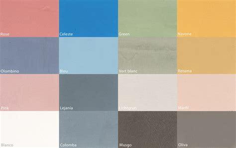 Texturas del Microcemento, amplia gama de Colores y Acabados