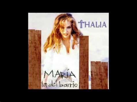 Thalia Maria La Del Barrio DISCO COMPLETO   YouTube