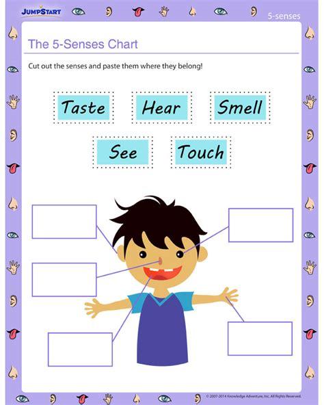 The 5 Senses Chart Worksheet   Free Five Senses Worksheet ...