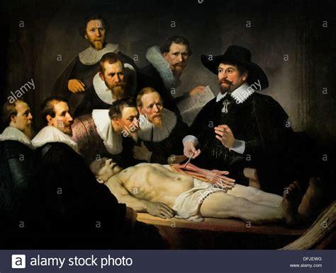 The Anatomy Lesson   de anatomische les   of Dr Nicolaes ...