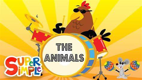 The Animals On The Farm | Super Simple Songs - YouTube