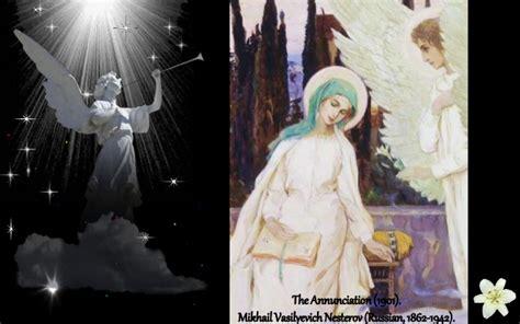 The Annunciation in Art.   Maria Callas    Ave Maria