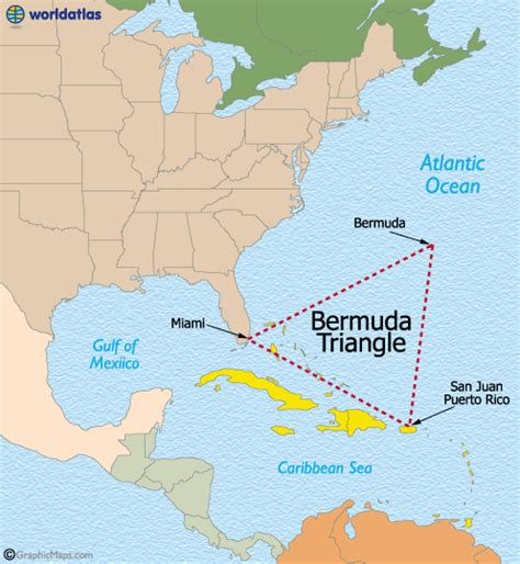 The Bermuda Triangle Map and Details
