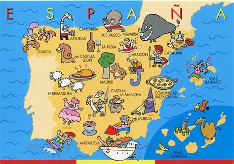 The Best Map of Spain   Spain Traveller