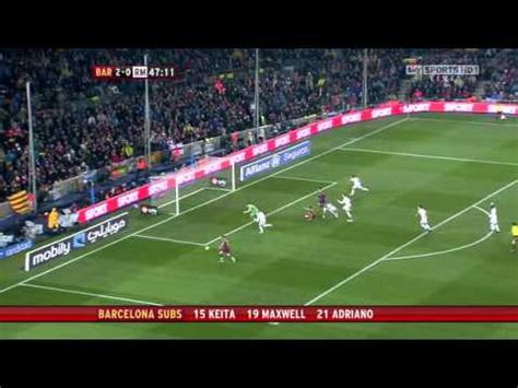 The best soccer Match Barcelona 5- Madrid 0 (Full Match ...