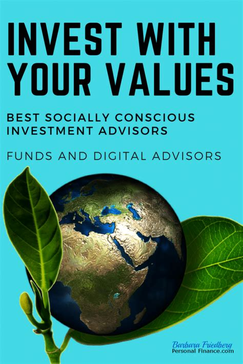 The Best Socially Conscious Investment Advisors - Funds ...
