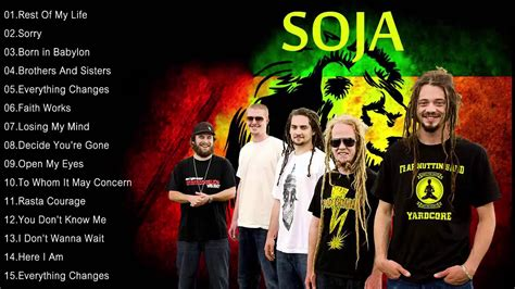 The Best Songs Of SOJA - SOJA Greatest Hits - YouTube
