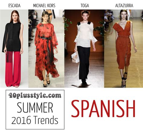 The best trends for spring and summer 2016 for women over 40