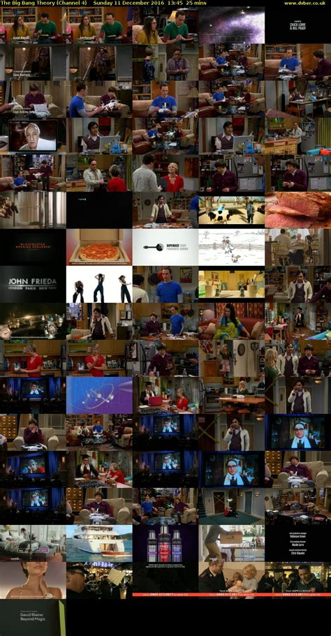The Big Bang Theory  Channel 4    2016 12 11 1345