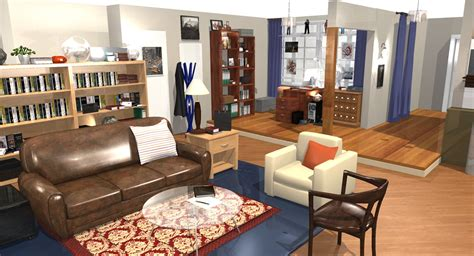 The Big Bang Theory  Wohnung in 3D! | HomeByMe