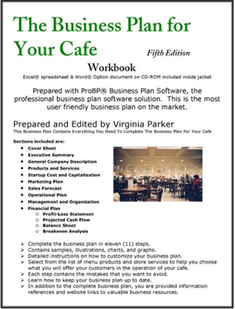 The Business Plan for Your Cafe | Coffee House | Coffee Shop