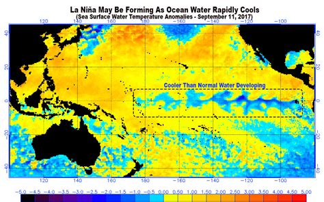 The Chance of a La Nina For the 2017-2018 Winter Just Rose ...