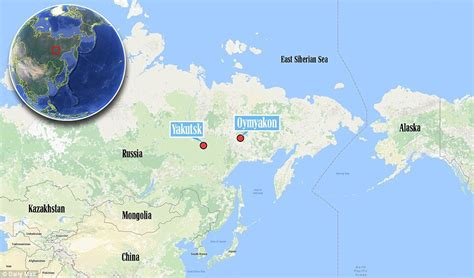 The Coldest Place On Earth Is a Tiny Russian Town Called ...