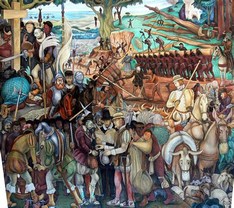 The Conquest or Arrival of Hernán Cortés in Veracruz ...