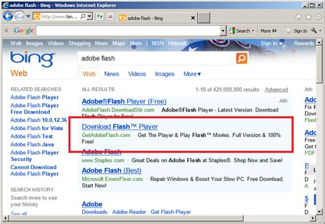 The Continuation of Dangerous Rogue Ads on Bing (and Yahoo ...