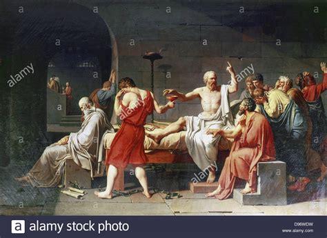 The Death of Socrates' 1787: Jacques Louis David (1748 ...