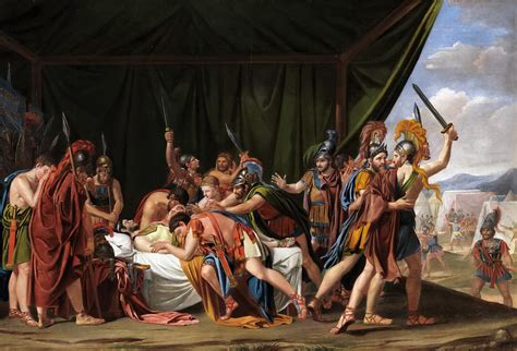 The Death Of Viriatus King Of The Lusitani Painting by ...