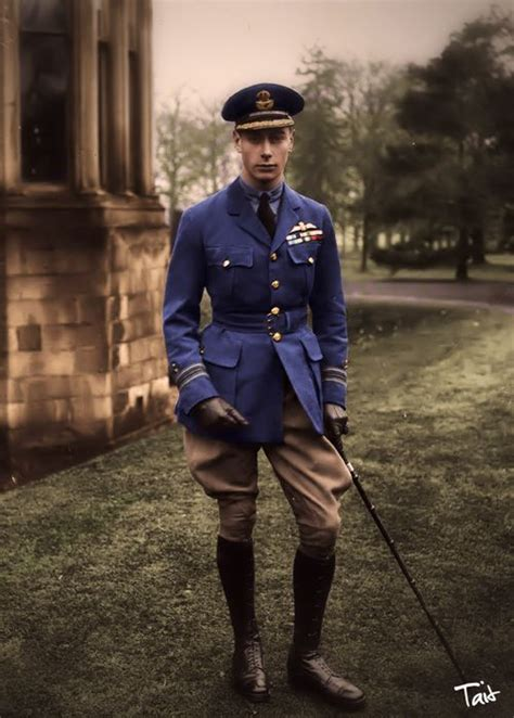 The Duke of York later to be King George VI....Father of ...
