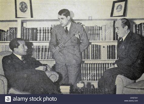 The Falange party leadership ; José Antonio primo de ...