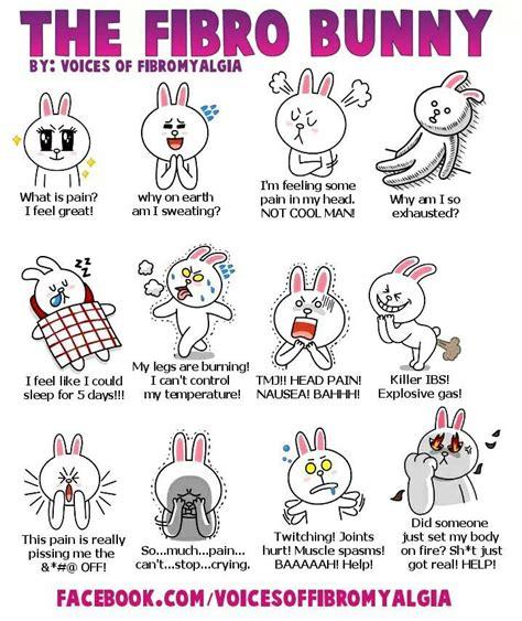 the Fibro bunny   Fibromyalgia   Pinterest   Fibromyalgia ...