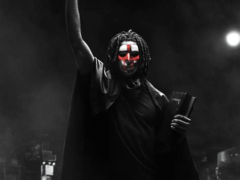 The First Purge 2018 Movie Poster, HD 4K Wallpaper