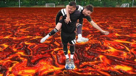 THE FLOOR IS LAVA | FOOTBALL EDITION! - YouTube